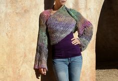 Epona  Luxurious Angora  Multi-Color Emerald by evabellaboutique