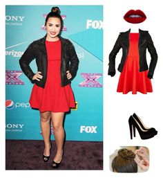 """""""demi lovato❤❤"""" by dieletta ❤ liked on Polyvore featuring Ted Baker, POLICE, Balenciaga and Christian Louboutin"""