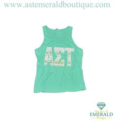 JUST IN! The Aztec Mint Tank Top is back and better than ever! Grab yours today at Emerald Boutique