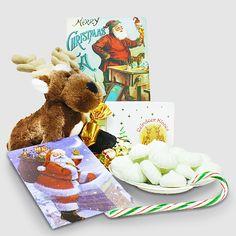 Reindeer reading Christmas ABC book - Gift from Santa Christmas Packages, Pre Christmas, Book Gifts, The Elf, Fun Games, Reindeer, Santa, Packaging, Teddy Bear