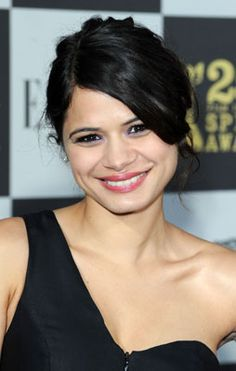 Melonie Diaz (born April 25, 1984) is an American actress who has appeared in many independent films, including four shown at the 2008 Sundance Film Festival.  Diaz was born in New York City, and was raised along with her elder sister on the Lower East Side, by parents of Puerto Rican descent.