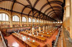 Historia del Arte: La arquitectura del siglo XIX. Labrouste, Biblioteca de Santa Genoveva. París