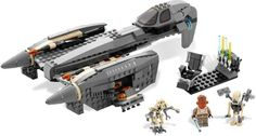(8095) General Grievous' StarfighterYear: 2010 Pcs: 454 Minifigs: 4 Retail: $49.99 Retired