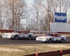Neil Bonnett & Darrell Waltrip 1985 Johnson Hogdon Racing