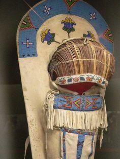 Ute Cradleboard 2 by mharrsch Native American Regalia, Native American Baby, Native American Pictures, Native American Design, Native American Artifacts, Native American Beadwork, American Indian Art, Native American History, American Crafts