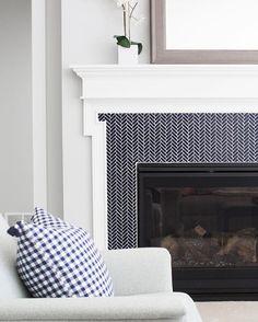 Verticle Shiplap Fireplace