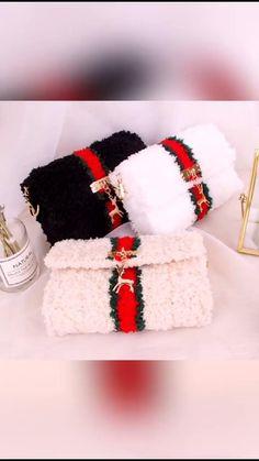 Diy Clutch, Diy Purse, Crochet Bag Tutorials, Diy Crochet, Handmade Handbags, Handmade Bags, Diy Bags No Sew, Diy Bags Purses, Crochet Basket Pattern