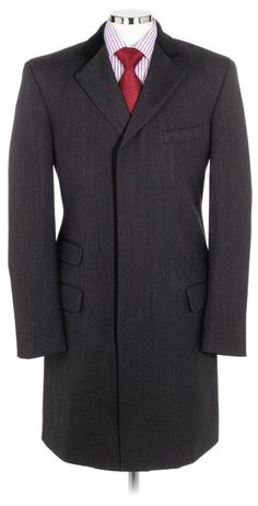 This covert coat is based on a classic English design, for a stylish and traditional look that works equally as well in the town or the country.   Made from 100% new wool and with a luxurious velvet collar, this covert coat features four pockets with three button front fastening, and a high notch lapel.  Dry clean only.  £149