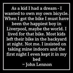 John Lennon. #bikeinspiration