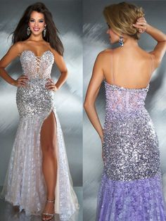 da27915638 mermaid wedding dresses with sequins and lace straps - Google Search