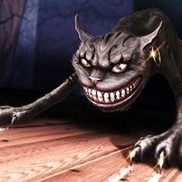 American McGee's Alice Cheshire Cat Quotes, Cheshire Cat Alice In Wonderland, Tim Burton Style, Chesire Cat, Alice Liddell, Halloween Gif, Halloween Pictures, Halloween Ideas, Alice Madness Returns