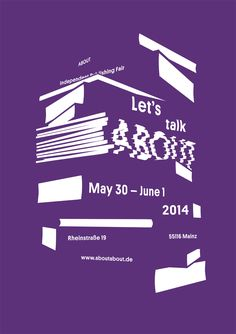 delicate-vacuum:  »Let´s talk ABOUT« is the motto of the ABOUT Independent Publishing Fair in Mainz. This fair for small publishing houses a...