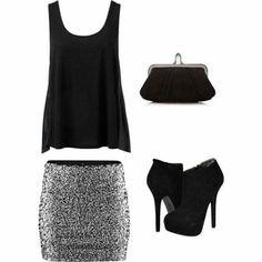 Look para esta noche. #look #outfit #noche