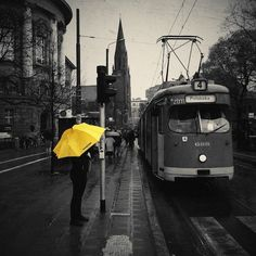 Poznan Poland, 30 Incredible iPhone Photos of Streets and Cities ---- university tram School Photography, Photography Contests, Photography Tips, Android Camera, Camera Apps, Iphone Photography, Mobile Photography, Yellow Umbrella, N21