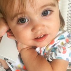 Voice   ~ Phone Conversations with Her Self  _  Lovely Dress. ~ * Pebbles ~ Angelic !!  1 Yr 2 Mos. 3 week !! *_ little miss Egypt _Jan 17-2016. [ GIF > view the source.*]