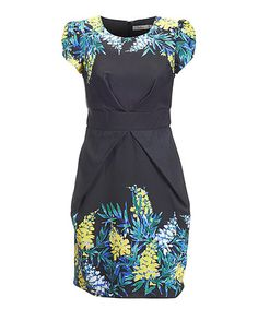 Another great find on #zulily! Black Isla Dress by Darling #zulilyfinds