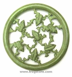 Brass Frog Trivet.... Someone broke my other frog one!