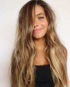 377 Likes, 13 Comments - Sarayah Politi Beach Hair Color, Beach Blonde Hair, Hair Color Guide, Honey Brown Hair, Curly Hair Styles, Natural Hair Styles, Hair Inspiration, Hair Inspo, Brunette Hair