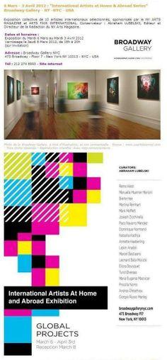 Broadway Gallery USA 2012