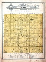Historic Map: Newry Township, Atlas: Freeborn County 1913, Minnesota - Historic Map Works, Residential Genealogy ™