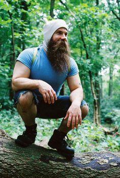 Now THATS a sexy BEARD!! Finn #Beard #Beanie #AllBoxesTicked