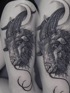Robert Borbas, Tattoo - goat