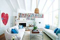 Model and businesswoman Miranda Kerr shows Big Love for Damien Hirst in her Malibu home