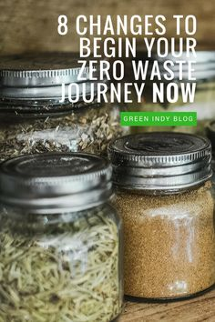 A zero waste lifestyle sounds super scary but these steps make it sound possible!