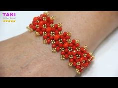 How to Make Jewelry Design-Aybalam Brace Armband Tutorial, Armband Diy, Bracelet Tutorial, Diy Tutorial, Diy Bracelet, Seed Bead Tutorials, Diy Jewelry Tutorials, Beading Tutorials, Jewelry Crafts