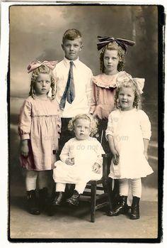 Cute Kids,  Vintage photograph