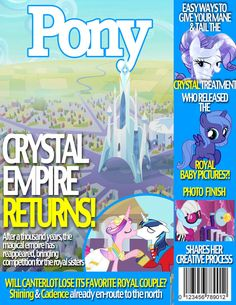Pony Magazine: Crystal Empire by Dutchess6942 on deviantART