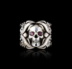 Rose From the Dead Ring- NightRider Jewelry