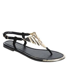 Take a look at the Black Aurora Sandal on #zulily today!