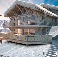 chalet suisse architecture - Recherche Google