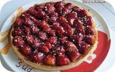 Tarte aux fraises & crème d'amande