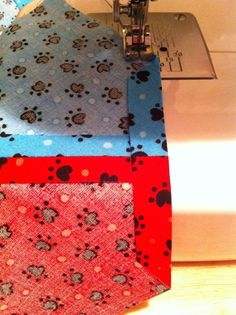 How to make a bandana. Reversible Over The Collar Dog Bandana - Step 12