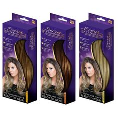 Secret Extensions™ Headband Hair Extensions - BedBathandBeyond.com