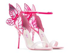 #Mode. Une collection de chaussures «Barbie» imaginée par Sophia Webster.