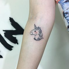 Pin for Later: 21 Unicorn Tattoos For the Person Who Wants to Make Magical Vibes Permanent