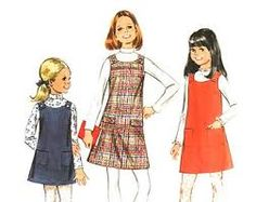 sewing pattern girls jumper