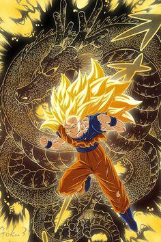 Super Saiyajin 3 #Goku #DBZ