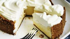 Lemon icebox pie.