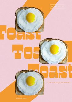 Toast designed by Here and Now Creative Co. | #magazinedesign #branding #toastbrand #printdesign #retrodesigninspiration