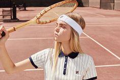 // ριntєrєѕt: ṃιατεℓℓαx // FILA + Urban Outfitters Team Up for a Tennis-Inspired Collection Sport Style, Sport Chic, Sport Girl, Tennis Fashion, Sport Fashion, Women's Fashion, Urban Outfitters, Eagle Outfitters, Mode Tennis