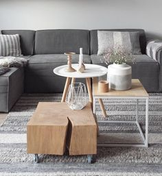 How to Design a Fall Themed Coffee Table Home Living Room, Interior, Home Decor, Home Deco, Rustic Living Room, Living Room Inspiration, Coffee Table, Home And Living, Lounge Design