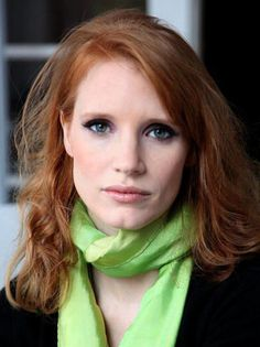 Jessica Chastain. Completely gorgeous face.
