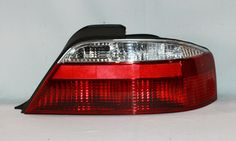 Acura 3.2 TL Chrome/Clear Euro Taillights fit 2002, 2003