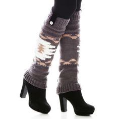 "<p>Ribbed on top and bottom to help keep them in place, these leg warmers are a fun accessory for winter.</p><div style=""page-break-after: always;""><span style=""display: none;"">"