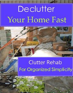 "Free Kindle Book For A Limited Time : Declutter Your Home Fast (Clutter Rehab for Organized Simplicity) - "" I was really impressed with the amount of tips and ideas I gleamed from this book"" - Kat Home organization shouldn't be difficult, but sometimes it just feels completely overwhelming . In my home organization business, I work on a daily basis with clients that find there life has spun out of control. I understand how easy it is in todays fast moving society to get behind in your home…"