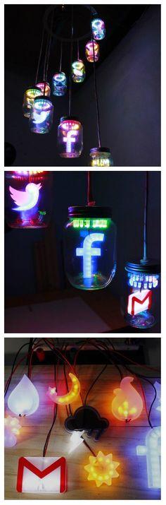 Работая целый день за компьютером, остается не так много времени, что бы проверить сообщения в социальных сетях Facebook, Twitter или в своем почтовом ящике Gmail. Было бы интересно, читать эти письма немедленно, как только они поступают в почтовый ящик. #светодиоды #светильники #светодиодныелюстры #люстрыпотолочные #управлениелюстрой #люстрыспультомуправления #светодиоднаялюстрасвоимируками #люстрасосветодиоднойподсветкой #люстрысосветодиодами #светодиодныелюстрыдлядома #светодиодыдлялюстры